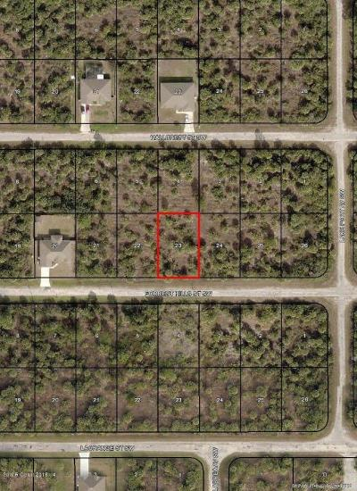 Brevard County Residential Lots & Land For Sale: 525 Forrest Hills Street SW