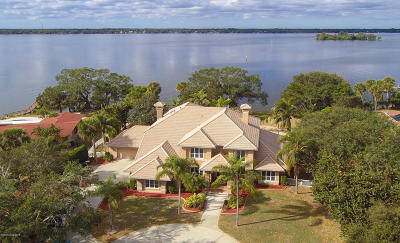 Merritt Island Single Family Home For Sale: 2025 S Tropical Trl S