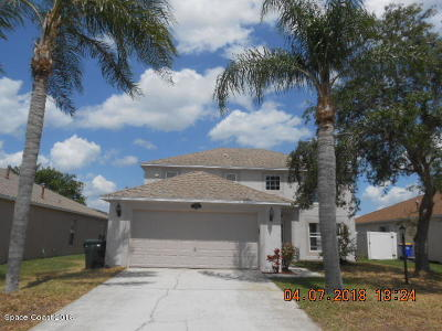 Rockledge Single Family Home For Sale: 3860 La Flor Drive