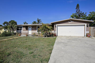 Merritt Island Single Family Home Backups: 1965 N Banana River Drive N