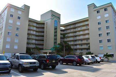 Cocoa Beach Condo For Sale: 3400 Ocean Beach Boulevard #214