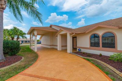Merritt Island Single Family Home For Sale: 405 Artemis Boulevard