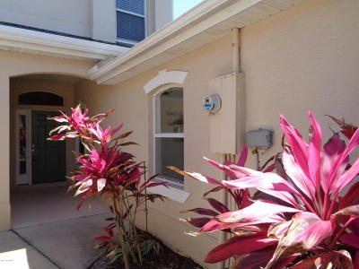 Indian Harbour Beach Townhouse For Sale: 524 McGuire Boulevard