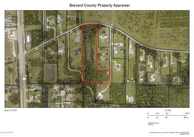 Merritt Island Residential Lots & Land For Sale: E Crisafulli Road