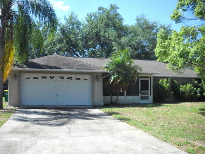 Cocoa Single Family Home For Sale: 5115 Mayflower Street