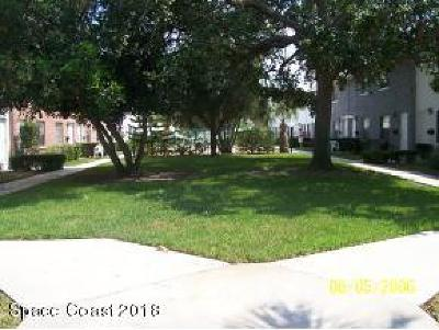 Merritt Island Condo For Sale: 55 Needle Boulevard #44