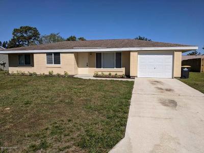 Palm Bay Single Family Home For Sale: 426 Ralwood Lane NE