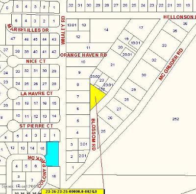 Merritt Island Residential Lots & Land For Sale: 6513 Blossom Road