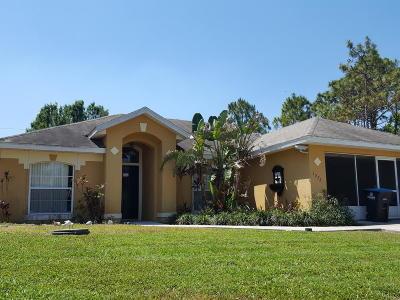 Brevard County Single Family Home For Sale: 1572 Agnes Avenue SE