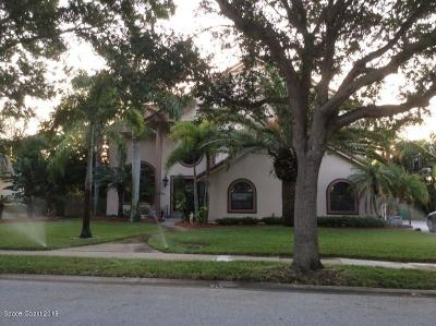 Brevard County Single Family Home For Sale: 860 Peregrine Drive