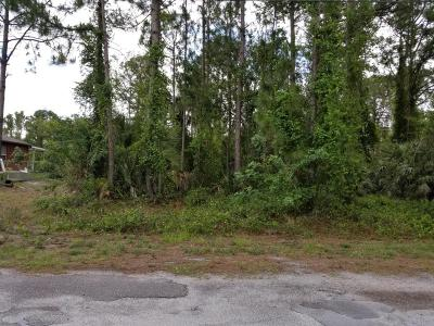 Brevard County Residential Lots & Land For Sale: 3159 Aspen Road SE