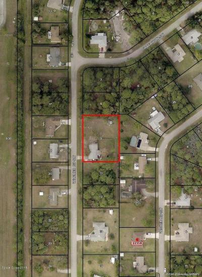 Brevard County Residential Lots & Land For Sale: 561 Wildmer Road SW