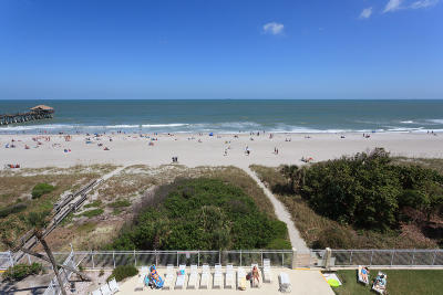 Cocoa Beach Condo For Sale: 5300 Ocean Beach Boulevard #408