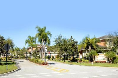 Vero Beach Townhouse For Sale: 2609 Stockbridge Square SW