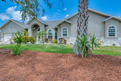 Merritt Island Single Family Home For Sale: 1772 Bayside Street