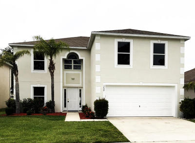 Bridgewater At Bayside Lakes, Bridgewater At Bayside Lakes Ph 2 Single Family Home For Sale: 1690 Sawgrass Drive SW