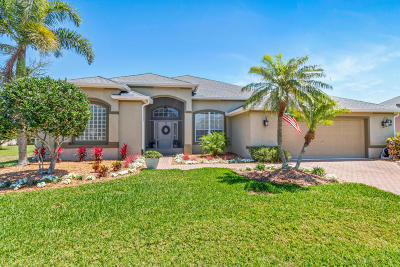 Rockledge Single Family Home For Sale: 5054 Pinot Street