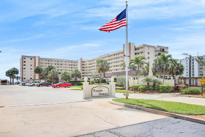Cocoa Beach Condo For Sale: 1830 N Atlantic Avenue #207
