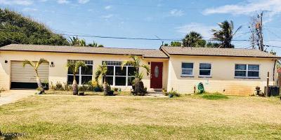 Satellite Beach Single Family Home Backups: 133 NE 1st Street NE