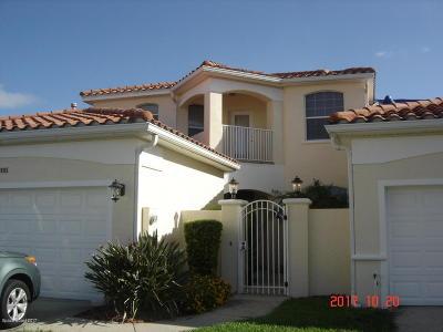 Cape Canaveral Townhouse For Sale: 8605 Villanova Drive #2302