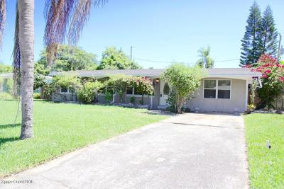 Cocoa Beach Single Family Home For Sale: 721 Java Road