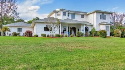 Rockledge Single Family Home For Sale: 120 Oyster Place