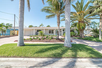 Satellite Beach Single Family Home Backups: 417 Cardinal Drive