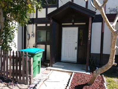 Cape Canaveral Townhouse For Sale: 7302 Poinsetta Avenue