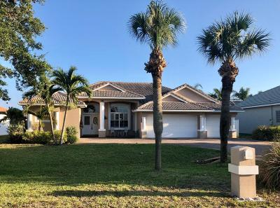 Cocoa Beach Single Family Home For Sale: 36 Indian Village Trail