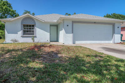 Melbourne Single Family Home For Sale: 4100 Bahama Avenue