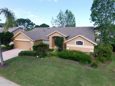 Rockledge Single Family Home For Sale: 976 Pelican Lane
