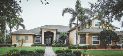 Merritt Island Single Family Home For Sale: 781 Carriage Lane