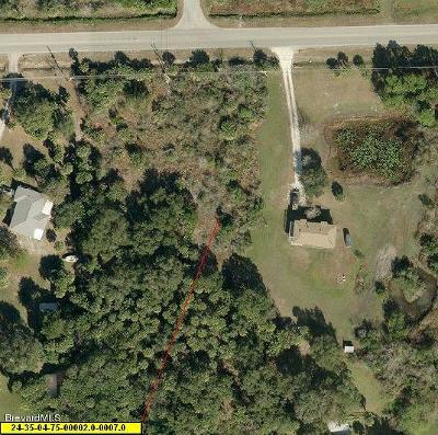 Cocoa Residential Lots & Land For Sale: Xxxx Citrus Boulevard