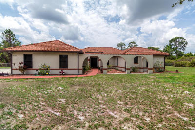 Cocoa Single Family Home For Sale: 3655 Canaveral Groves Boulevard
