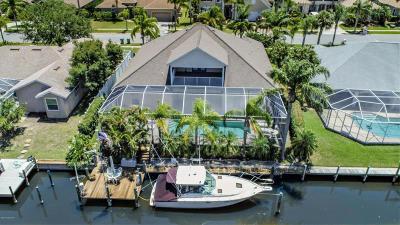 Merritt Island Single Family Home For Sale: 2042 Sykes Creek Drive