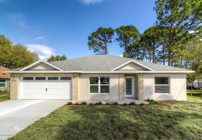Cocoa Single Family Home For Sale: 6935 Bismark Road