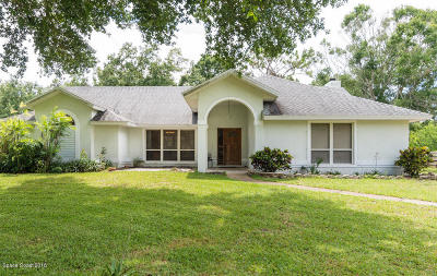 Melbourne Single Family Home For Sale: 2495 Ranchwood Court