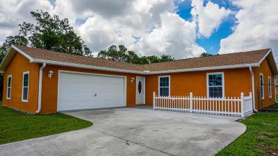 Palm Bay Single Family Home For Sale: 1508 Talbott Street SE
