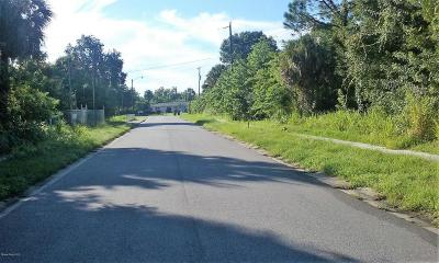 Cocoa Residential Lots & Land For Sale: Robeson Road
