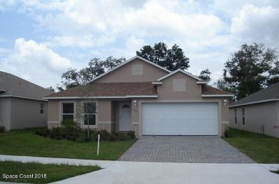 Titusville Single Family Home For Sale: 5455 Andrea Street
