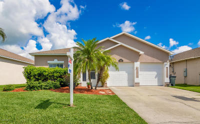 Rockledge Single Family Home For Sale: 5956 Indigo Crossing Drive