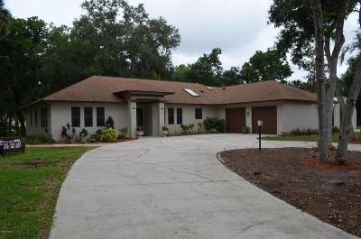 Titusville Single Family Home Contingent: 5050 Kirkwood Trl