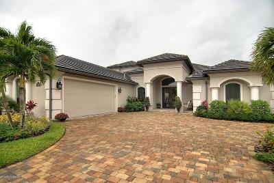 Rockledge Single Family Home For Sale: 3351 Thurloe Drive