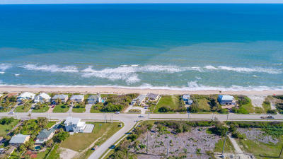 Melbourne Beach Single Family Home For Sale: 6915 S Highway A1a