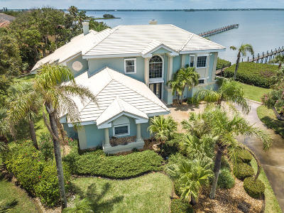 Melbourne Beach FL Single Family Home For Sale: $1,250,000