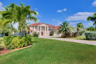 Merritt Island Single Family Home For Sale: 4790 Honeyridge Lane