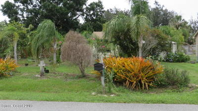 Palm Bay FL Single Family Home For Sale: $149,900