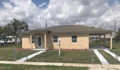 Palm Bay FL Single Family Home For Sale: $149,000