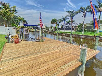 Merritt Island Single Family Home For Sale: 360 Riverside Avenue