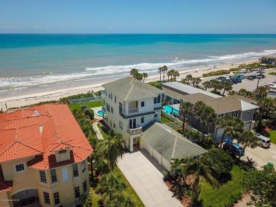 Indialantic, Melbourne, Melbourne Beach, Satellite Beach, Cocoa Beach, Cape Canaveral Single Family Home For Sale: 735 Beach Street